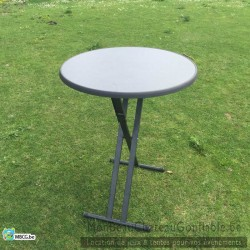 Table Mange Debout  haute  - pliable - location