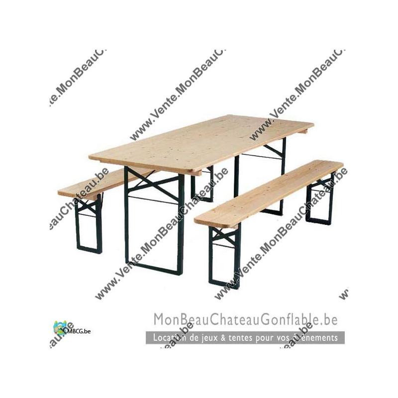 vente de tables de brasserie ensemble tables et bancs sur bruxelles. Black Bedroom Furniture Sets. Home Design Ideas