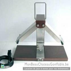Appareil raclette traditionnel breziere quart de roue
