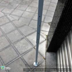 Tonnelle pliante - 3m x 3m - à emporter