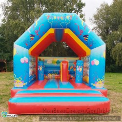 Le Fiesta Boum Boum - château gonflable - couvert - occasion