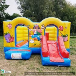 Le Filou - château gonflable - couvert - occasion