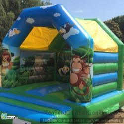 Le Jungle - château gonflable a vendre - occasion
