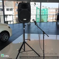 kit son ( micro baffle avec connectique )