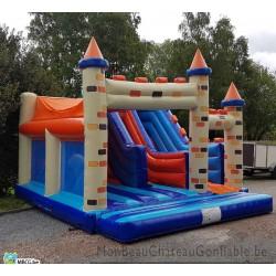 Le Combo Donjon - château gonflable d'occasion