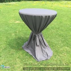 vente nappe pour table de bar haute mange debout. Black Bedroom Furniture Sets. Home Design Ideas