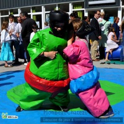 Costumes de sumos Ados - occasion