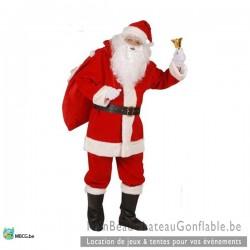 Costume Père Noël Luxe - occasion