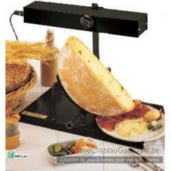 "Appareil raclette Traditionnel ""Demi roue"" - Location"