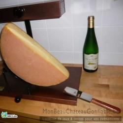 """Appareil raclette Traditionnel """"Demi roue"""""""