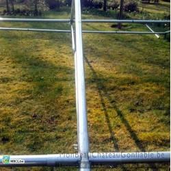 Tonnelle en tube - 6m x m - occasion