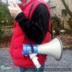 Mégaphone amplificateur porte voix - occasion