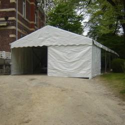 Grande Tente Professionnelle - 6m x 21m - livrée - montée