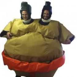 Costumes de Sumos Jumeaux Adulte - occasion