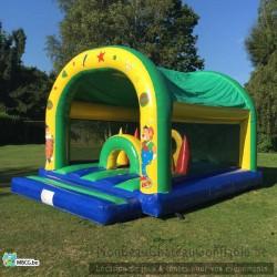 Le Junior - Parcours d'obstacle gonflable - occasion