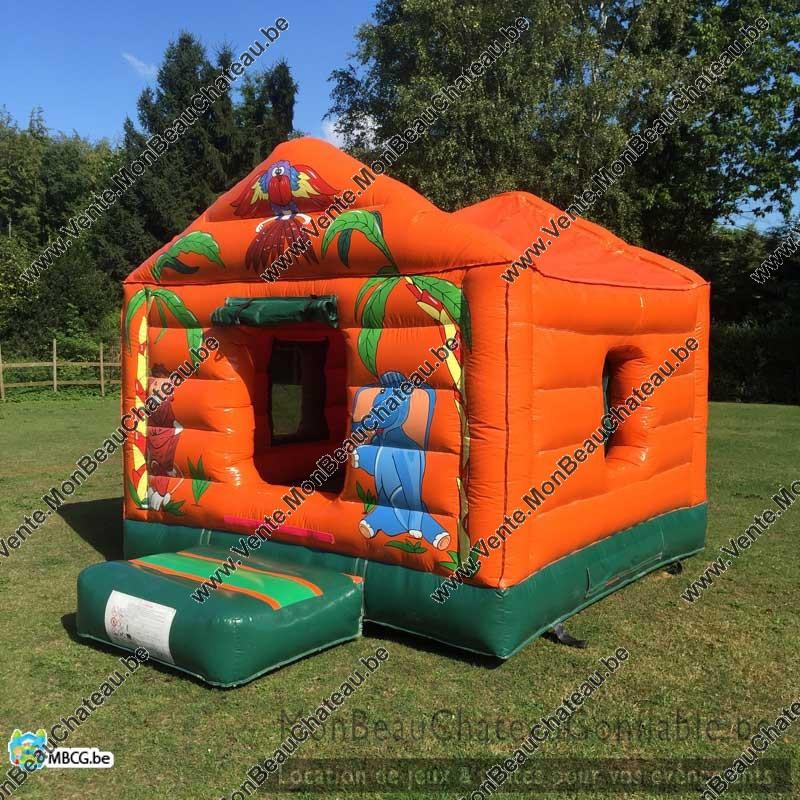 Le chateau gonflable maisonnette couvert a vendre occasion - Vente chateau gonflable ...