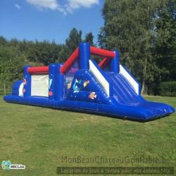 Le Grand Bleu - Parcours d'obstacle Géant - Toboggan